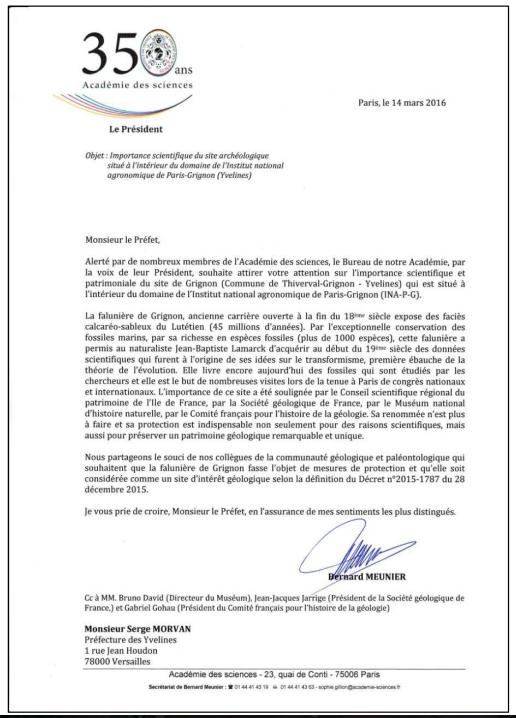 lettre au pr u00e9fet